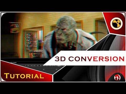 Nuke 2D to 3D Conversion