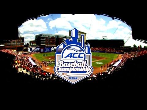 2016 ACC Baseball Championship Hype Video