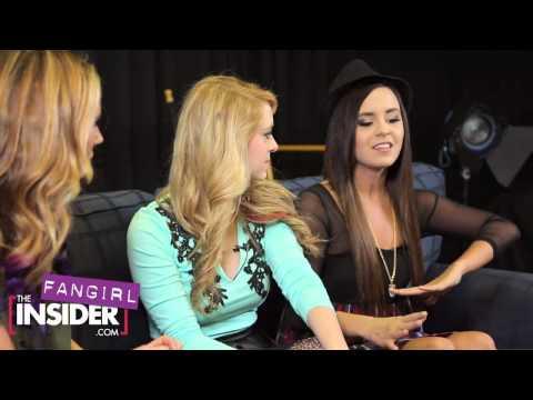 Megan & Liz Interview with The Insider!
