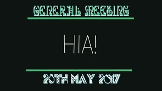 Habbo Intelligence Agency | General Meeting - 28th May