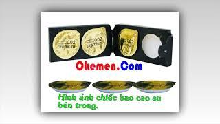 Bao cao su Sagami original 002 premium mở hộp khám phá