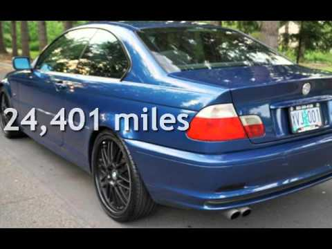 2001 bmw 330ci coupe 5 speed manual for sale in milwaukie or youtube. Black Bedroom Furniture Sets. Home Design Ideas