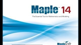 TUTORIAL MAPLE 14