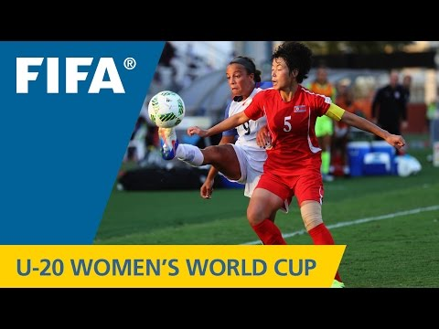 MATCH 29: KOREA DPR v USA - FIFA Women's U20 Papua New Guinea 2016