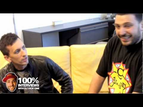 Clinton Sparks interview at Power 106 with Dj Felli Fell and Dj Vick One