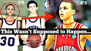 The BIRTH of Steph Curry