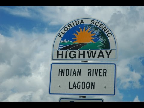 Scenic Riverside Drive Through Rockledge/Cocoa, Florida - PART 1 Of 3