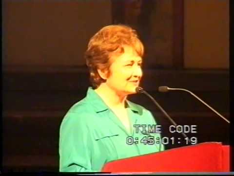 Closing event of the Vienna Peace Summit 1999 moderated by Uwe Morawetz, part 1