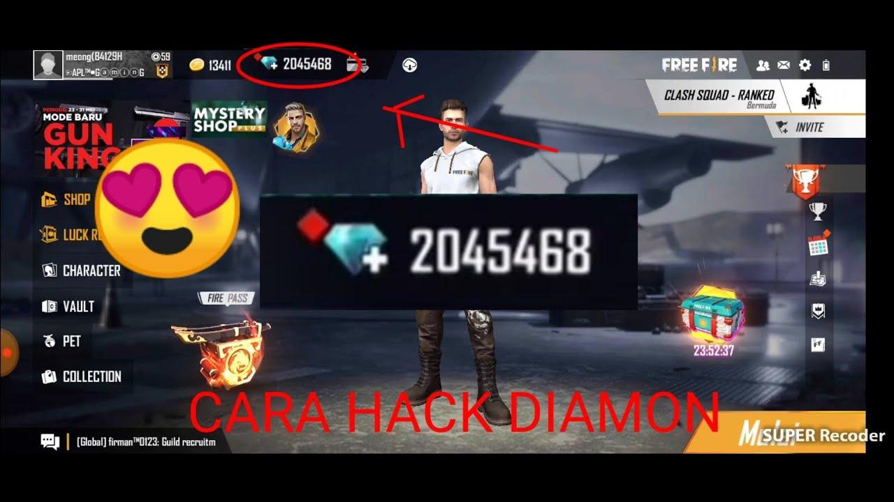 cara hack diamon gratis tanpa aplikasi! - YouTube