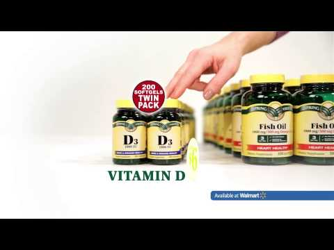 Walmart- Spring Valley Vitamins :30
