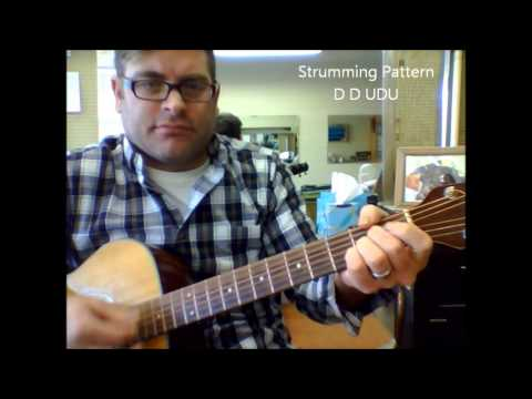 How To Play The Middle By Jimmy Eat World On Acoustic Guitar Youtube