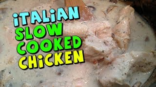 Italian Slow Cooked Chicken Recipe (low Fat/high Protein)