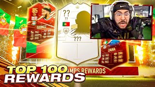 30-0 TOP 100 REWARDS!! ICON PACKED!! FIFA 21