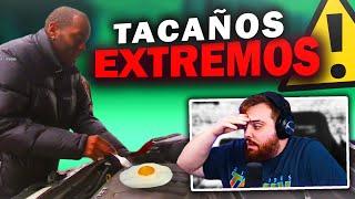 FRIE HUEVOS en el MOTOR de su COCHE PARA AHORRAR - REACCIONANDO a TACAÑOS EXTREMOS