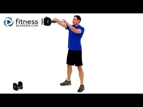 Kettlebell Cardio Workout by FitnessBlender.com