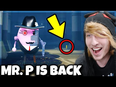 THE RETURN OF MR. P! HE'S BACK!! (Book 2 Chapter 9 Secrets) | Roblox Piggy