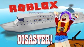 CRUISE SHIP VACATION DISASTER IN ROBLOX! | RADIOJH GAMES & MICROGUARDIAN