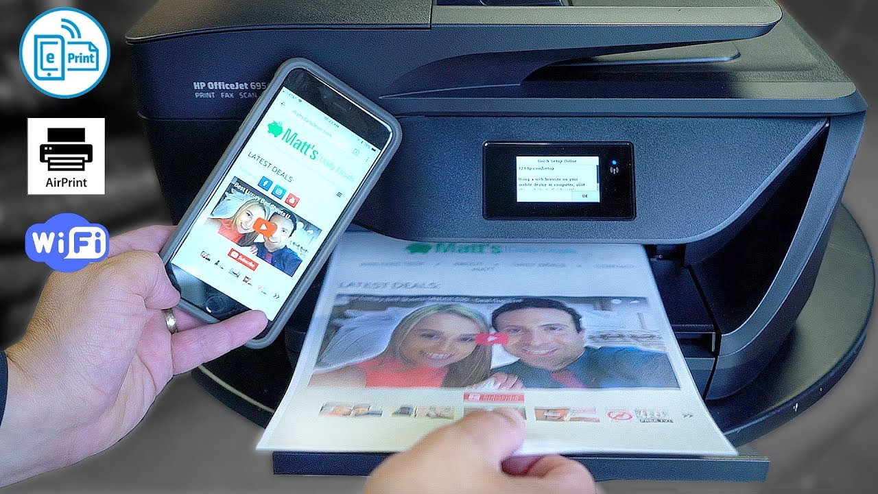 Best Hp All In One Printer Review Print Direct From Iphoneandroid