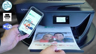 best HP All-in-One Printer Review - Print DIRECT from iPhone/Android!