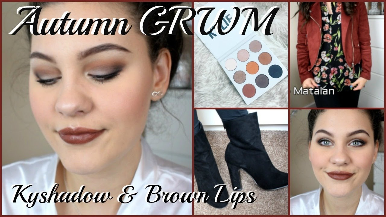 Download Autumn/ Fall GRWM Using Kyshadow Palette - Makeup, Hair & Outfit