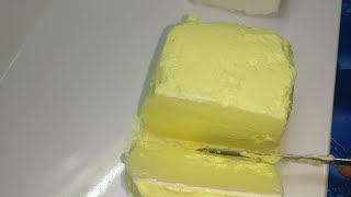 White & Yellow butter बनाए दूध की मलाई से | Easy butter recipe