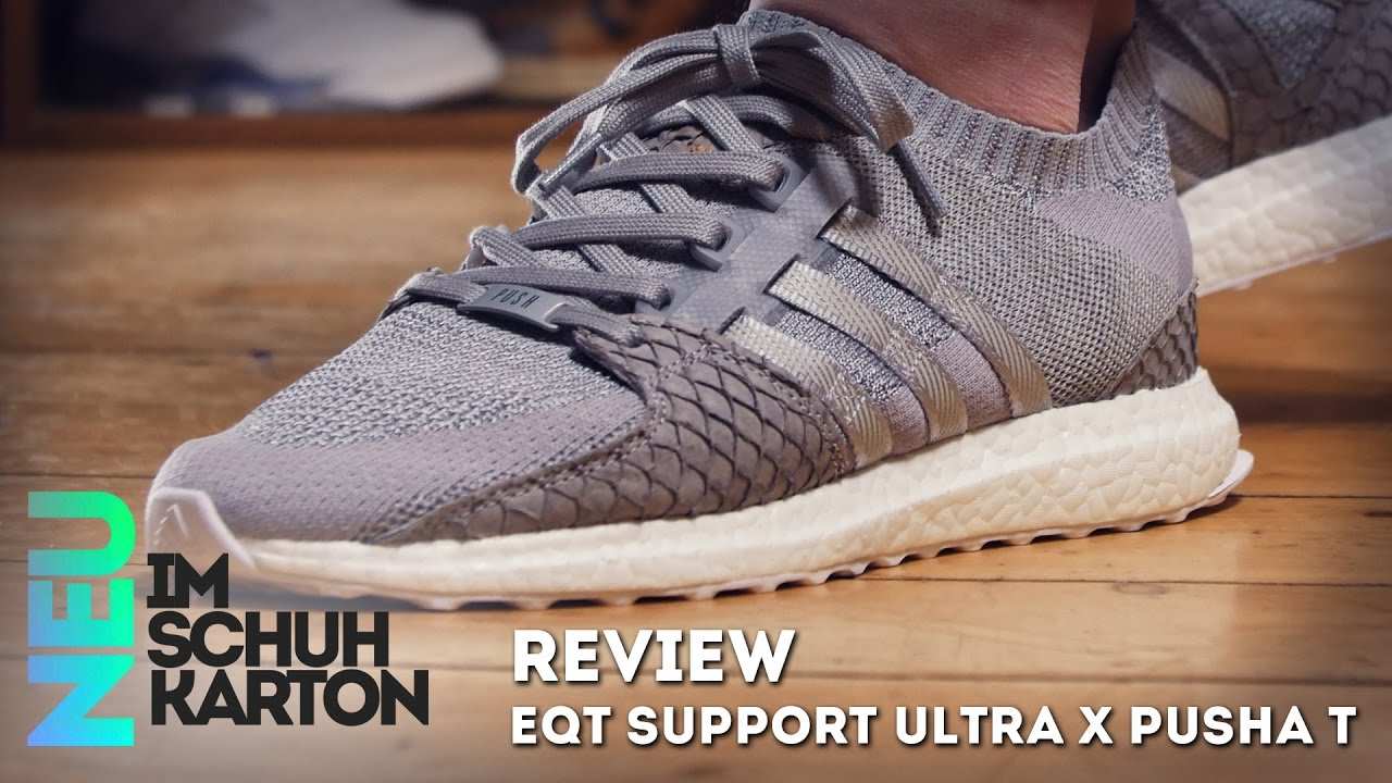 buy online a07e4 645d4 Adidas EQT Support Ultra Grayscale  Review - YouTube