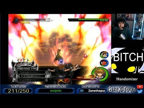 Kingdom Hearts II Final Mix - Randomizer 3 Run (Part 2)