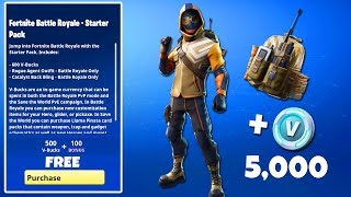 The NEW Fortnite STARTER PACK #4 is HERE..