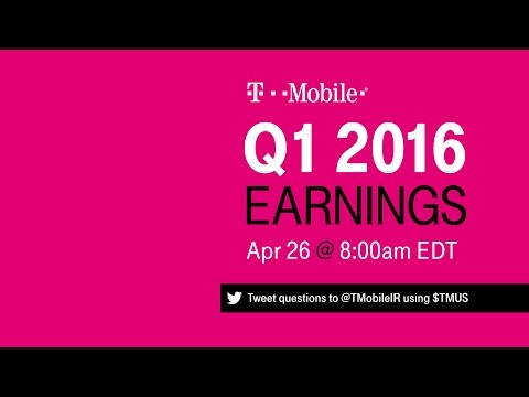 T-Mobile Q1 2016 Earnings Call: Behind-the-Scenes Livestream