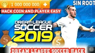 How to hack dream league soccer 2019/dls19 hack coin and player 100 all Android