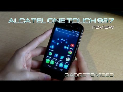 Alcatel One Touch 997 Ultra [Review Español]