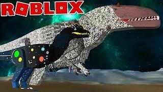 "Dinosaur Simulator (Roblox) ft-Spartan-double Carnivora, Hunters ""Yutyrannus""-(#42) (EN-BR)"