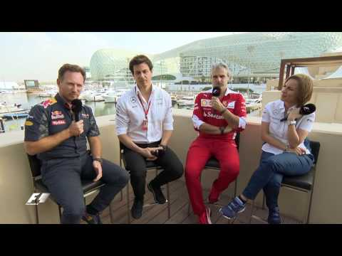 Off Track and Unscripted - Christian, Toto, Maurizio & Claire