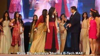 dr ashok k chauhan founder president amity university fashion show amity youth fest 2016