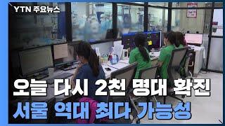 닷새 만에 2천 명대 확진...서울 역대 최다 기록할 …