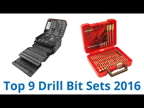 9 Best Drill Bit Sets 2016