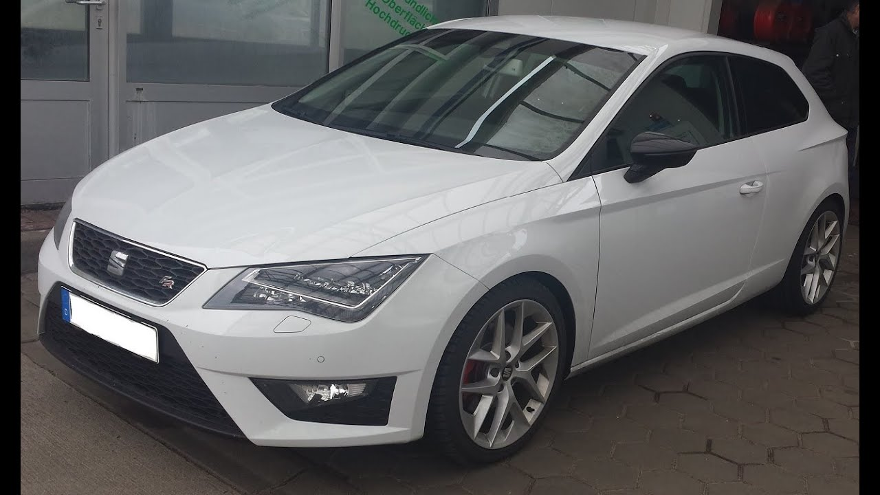 seat leon 5f fr 2 0 tdi 184 hp active sound system. Black Bedroom Furniture Sets. Home Design Ideas