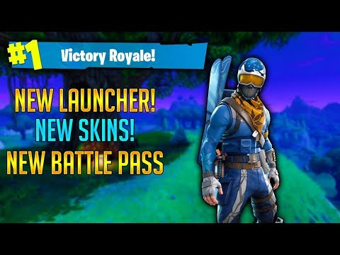 'Fortnite' Winter UPDATE!! // NEW Battle royale pass ...