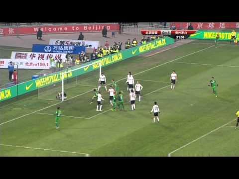 Beijing Guoan vs Guizhou Renhe: Chinese Super League 2013 (Round 6)