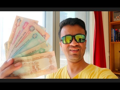 Dubai Money and Currency Travel Vlog in Hindi - All about Du