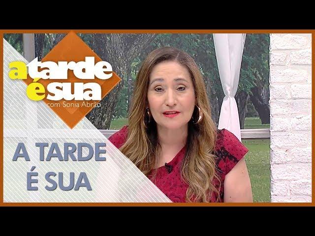 A Tarde é Sua (25/02/18)   Completo