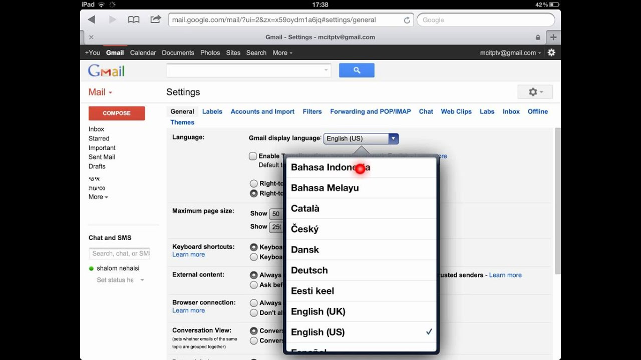 gmail sign in bahasa indonesia