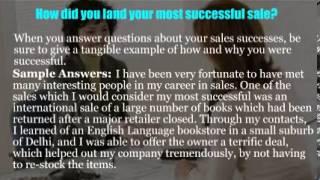 Retail sales associate interview questions