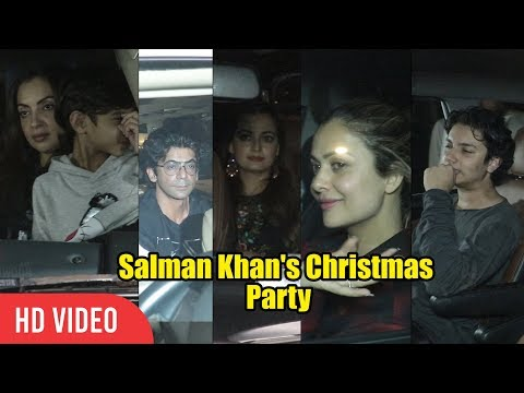 Salman Khan's Christmas Party at Galaxy Apartment | Salman Khan Family and Friends | Sunil Grover