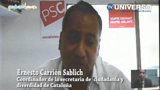 Mundo sin Límites - Entrevista desde España a Ernesto Carrión Sablich