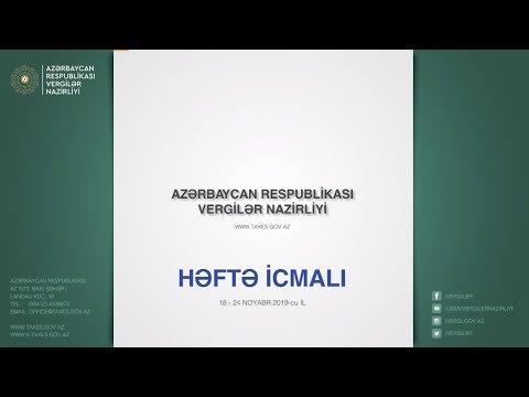 """""""Həftə icmalı"""", 18-24 noyabr 2019-cu il"""