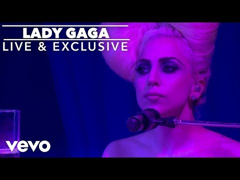 Lady Gaga - Speechless (Live At The VEVO Launch Event)