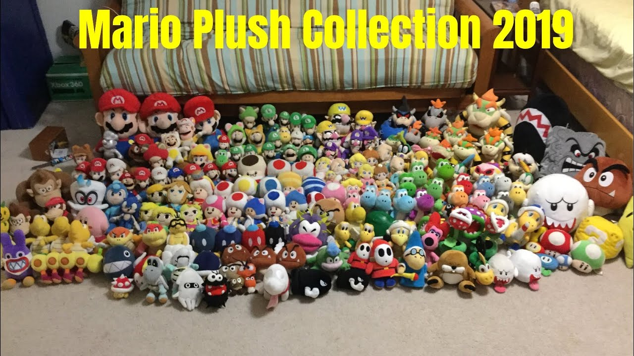 Mario Plush Collection 2019 Youtube