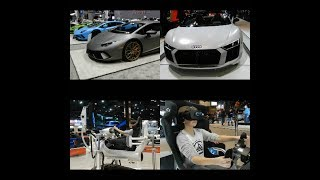 VR RACING! - Chicago Auto Show (Vlog 8)