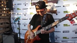 12-Year-Old Kid Destroys Opponents in Guitar Shred-Off